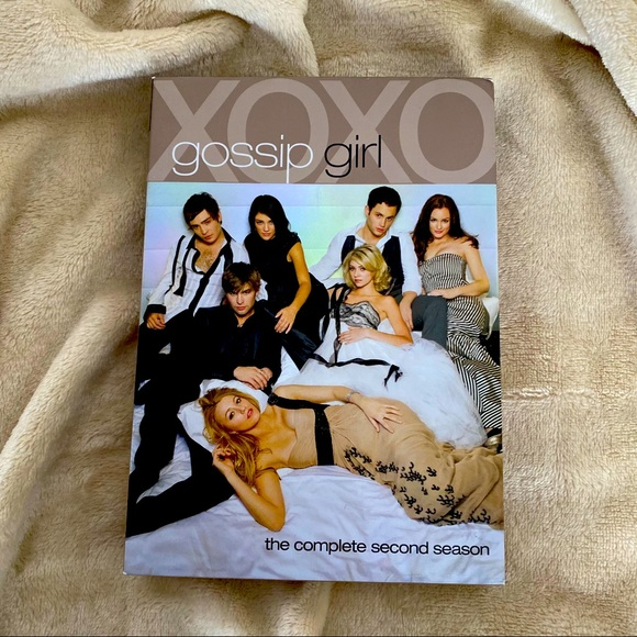 GOSSIP GIRL The Complete Second Season Two DVD